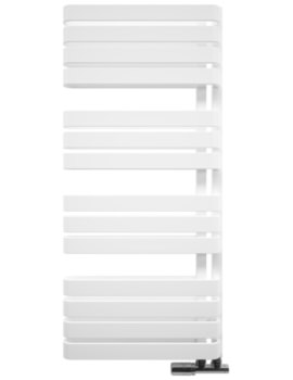 Gallery Svelte 500 x 1100mm White Matte Towel Warmer