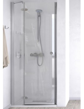 ID Match Time 800mm Recess Hinged Door With Fixed Panel