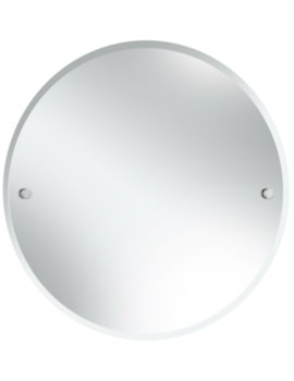 Harlesden 610mm Round Mirror With Chrome Fitting