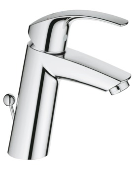 Eurosmart M-Size Half Inch Basin Mixer Tap With Pop Up Waste