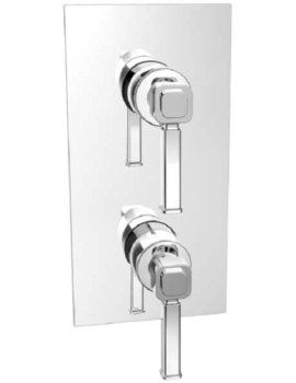 Somersby Recessed Thermostatic Shower Valve With 1 Outlet