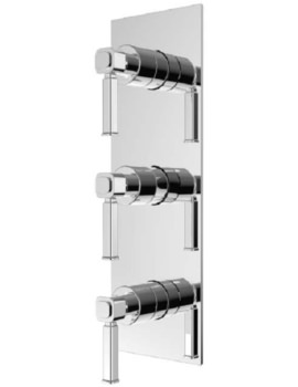Somersby Recessed Thermostatic Shower Valve With Twin Stopcocks