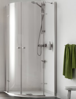 Aqualux Origin 800 x 800mm Quadrant Shower Enclosure