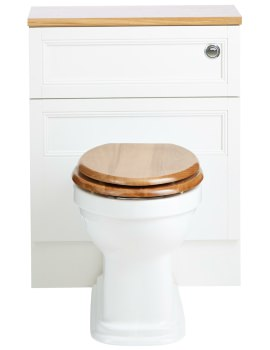 Claverton Back-To-Wall WC Pan 527mm