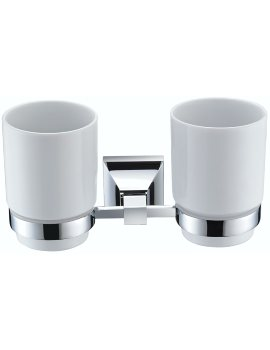 Chancery Double Tumblers And Chrome Holder