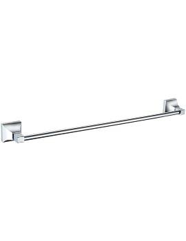 Chancery 590mm Chrome Single Towel Rail
