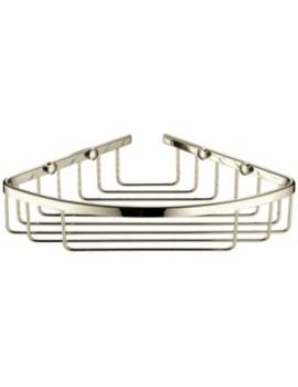 200 x 200mm Corner Vintage Gold Wire Basket