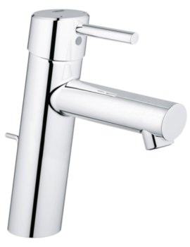 Concetto Half Inch Basin Mixer Tap With Pop Up Waste