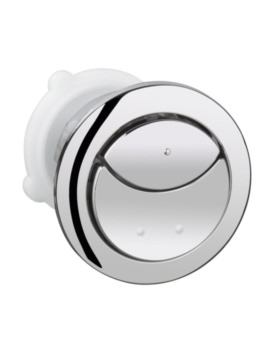 Round Dual Flush Push Button Actuation With Eco Button
