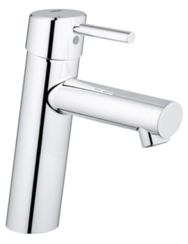 Concetto Half Inch Basin Mixer Tap Without Waste