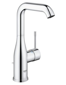 Essence New U-Spout L-Size Basin Mixer Tap With Pop Up Waste