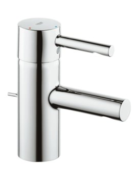 Essence Half Inch Basin Mixer Tap With Pop Up Waste