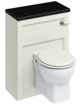 600mm Sand Wall Hung WC Unit