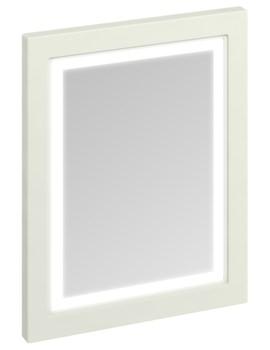 600mm Sand Framed Mirror With LED Illumination