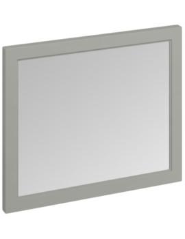 900mm Dark Olive Framed Mirror