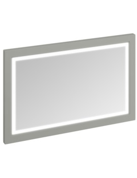 1200mm Dark Olive Framed Mirror With LED Illumination