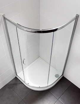 Identiti2 1000 x 1000mm Single Door Shower Quadrant