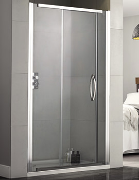 Aquadart Inline 1200mm Recess Sliding Shower Door