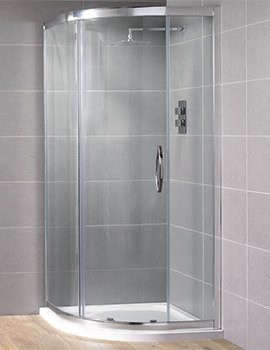 Venturi 8  900 x 900mm Single Door Shower Quadrant