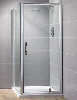 Venturi 8 760mm Pivot Shower Door