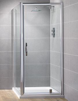Venturi 8 760mm Pivot Shower Door