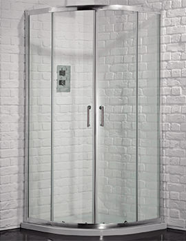 Venturi 6 900 x 760mm Double Door Offset Shower Quadrant