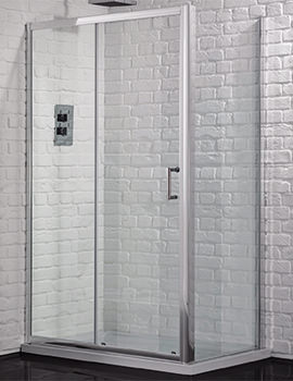 Aquadart Venturi 6 1500mm Sliding Shower Door