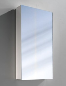 Pepline 1 Door Mirror Cabinet - More Sizes Available