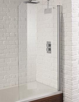 Venturi 6 800 x 1400mm Single Panel Bath Screen