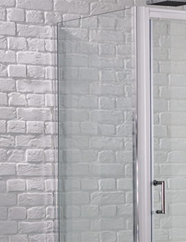 Aquadart Venturi 6 700mm x 1900mm Side Panel For Shower Enclosure