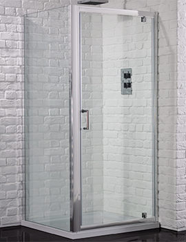 Aquadart Venturi 6 1000mm Pivot Shower Door