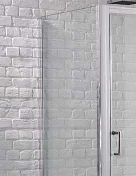 Venturi 6 800mm x 1900mm Side Panel For Shower Enclosure