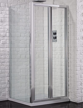 Venturi 6 760mm Framed Bifold Shower Door