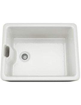 White Glaze Ceramic Belfast Kitchen Sink
