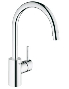 Concetto Single Lever Kitchen Sink Mixer Tap Chrome