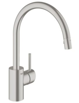 Concetto Single Lever Kitchen Sink Mixer Tap Supersteel