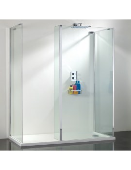 Vision Single Wall Shower Enclosure 1400mm Pack 6 - SEV006