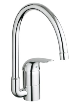 Euroeco Single Lever Half Inch Kitchen Sink Mixer Tap