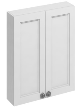 Burlington 600mm Double Door Cabinet Matt White - Image