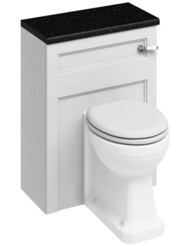 600mm Back To Wall WC Unit Matt White