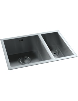 Matrix RO Brushed Steel 1.5 Bowl Kitchen Sink