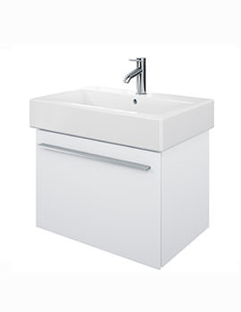 X-Large 650mm Vanity Unit With 700mm Vero Washbasin