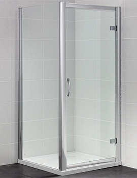 Identiti2 900mm Semi Frameless Hinged Shower Door