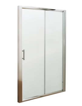 Framed Sliding Shower Door 1000mm