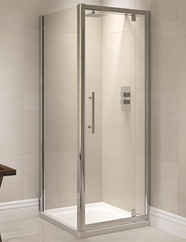 Prestige 760mm Pivot Shower Door