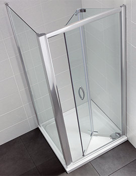 April Identiti2 700-760mm Bifold Shower Door