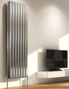 DQ Heating Sol Double Vertical Designer Radiator 390 x 1800mm