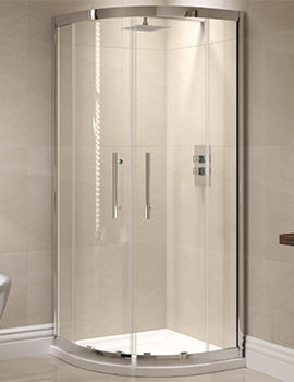 Prestige 900 x 900mm Double Door Shower Quadrant