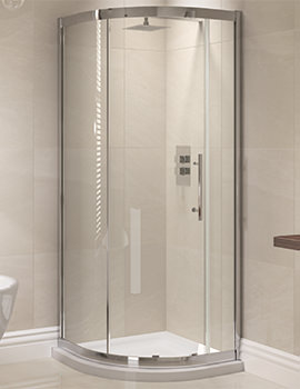 Prestige 800 x 800mm Single Door Shower Quadrant
