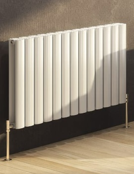 DQ Heating Sol Double Horizontal Designer Radiator 790 x 600mm